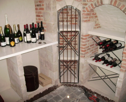 Siersmederij De Weerdt Decoratie Wijnkelder