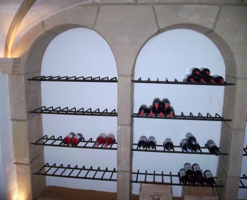 Siersmederij De Weerdt Decoratie Wijnkelder Rekken